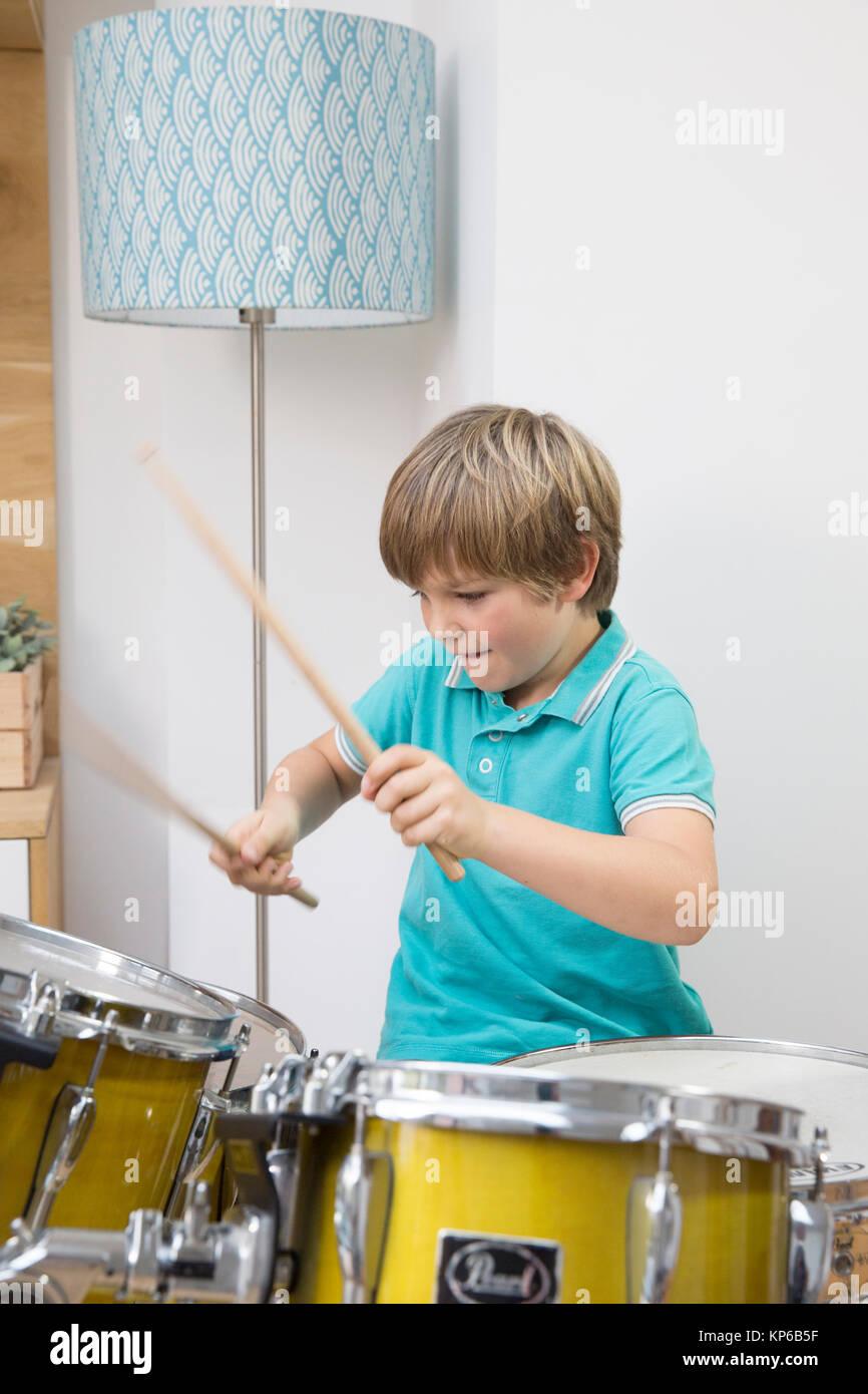 CHILD PLAYING - Stock Image