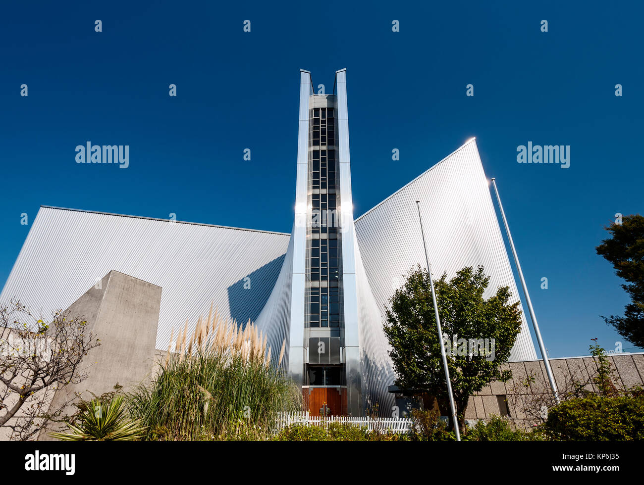 St. Mary's Cathedral Kenzo Tange - Stock Image
