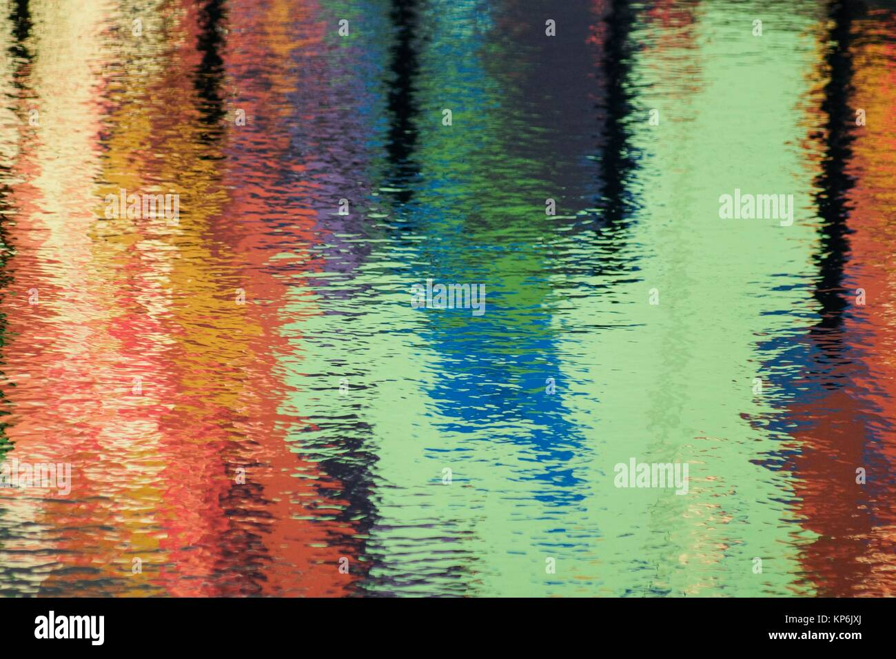 Water canvas for the impressionist painter. - Stock Image