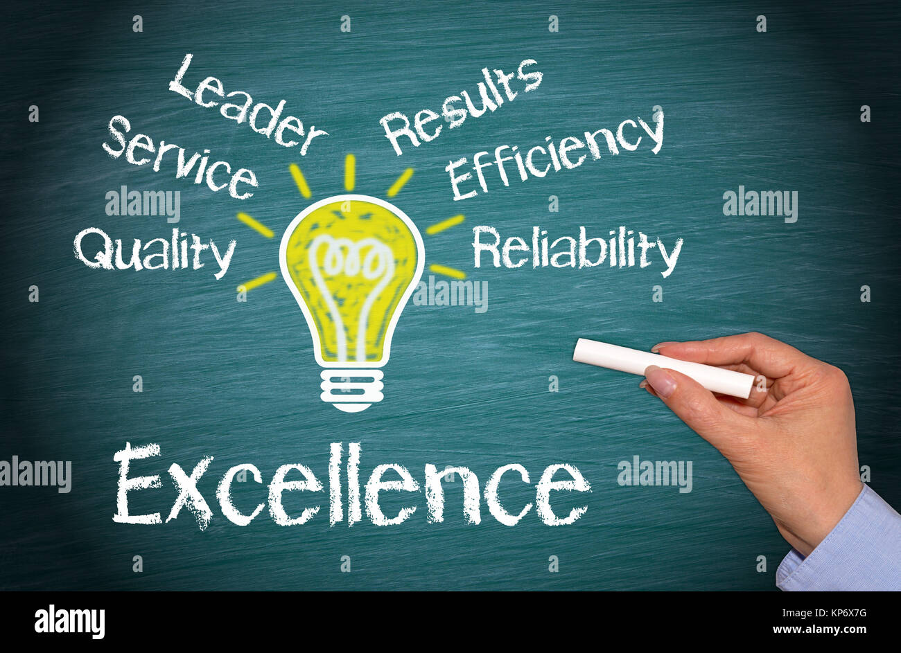 Excellence Business Concept - Stock Image