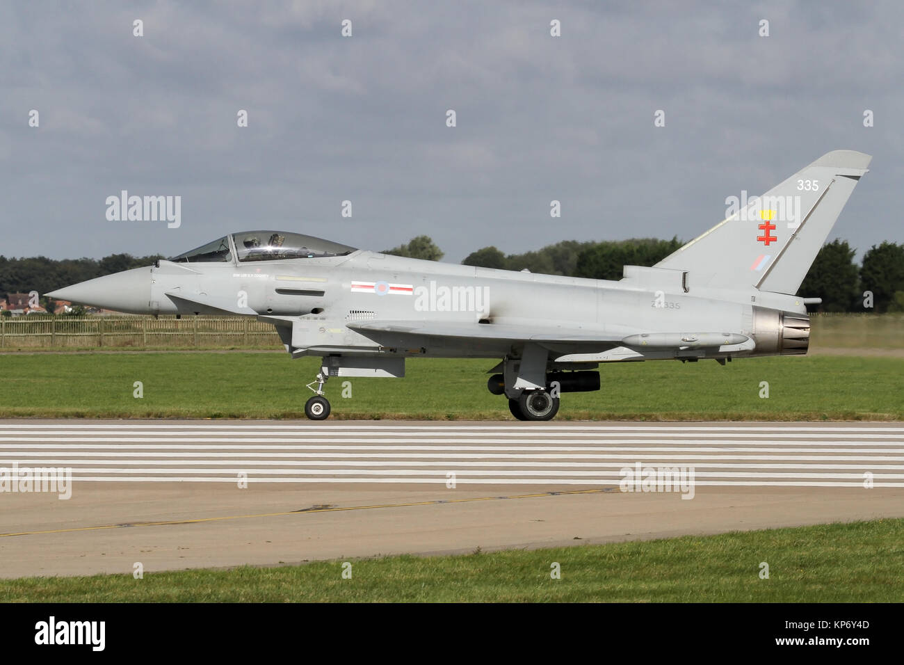 41 Squadron Typhoon Fgr4 Lining Up For Departure At The End Of The Stock Photo Alamy