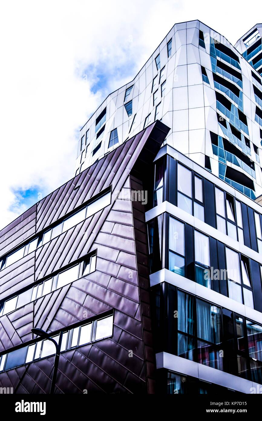 Modern architecture in Rotterdam, the Netherlands, Europe. - Stock Image