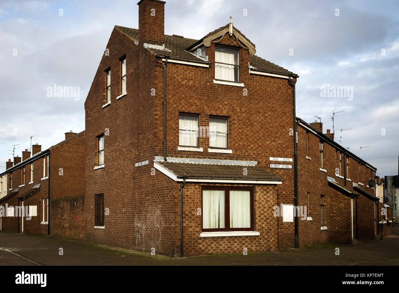 Albert Street, Belfast, Ireland, Europe - Stock Image