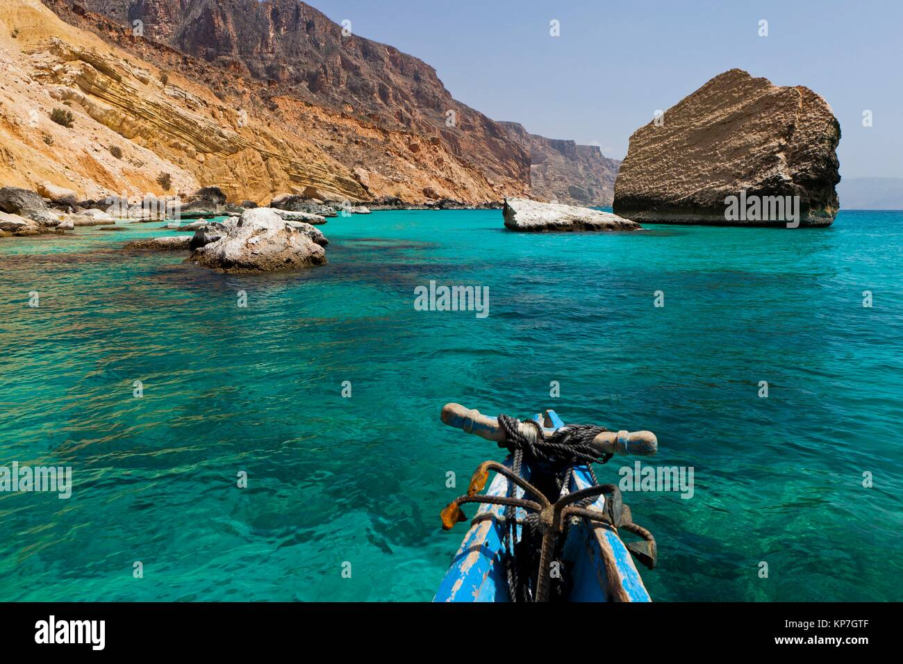 Qalansiyah, Socotra island, listed as World Heritage by UNESCO, Aden Governorate, Yemen, Arabia, West Asia - Stock Image