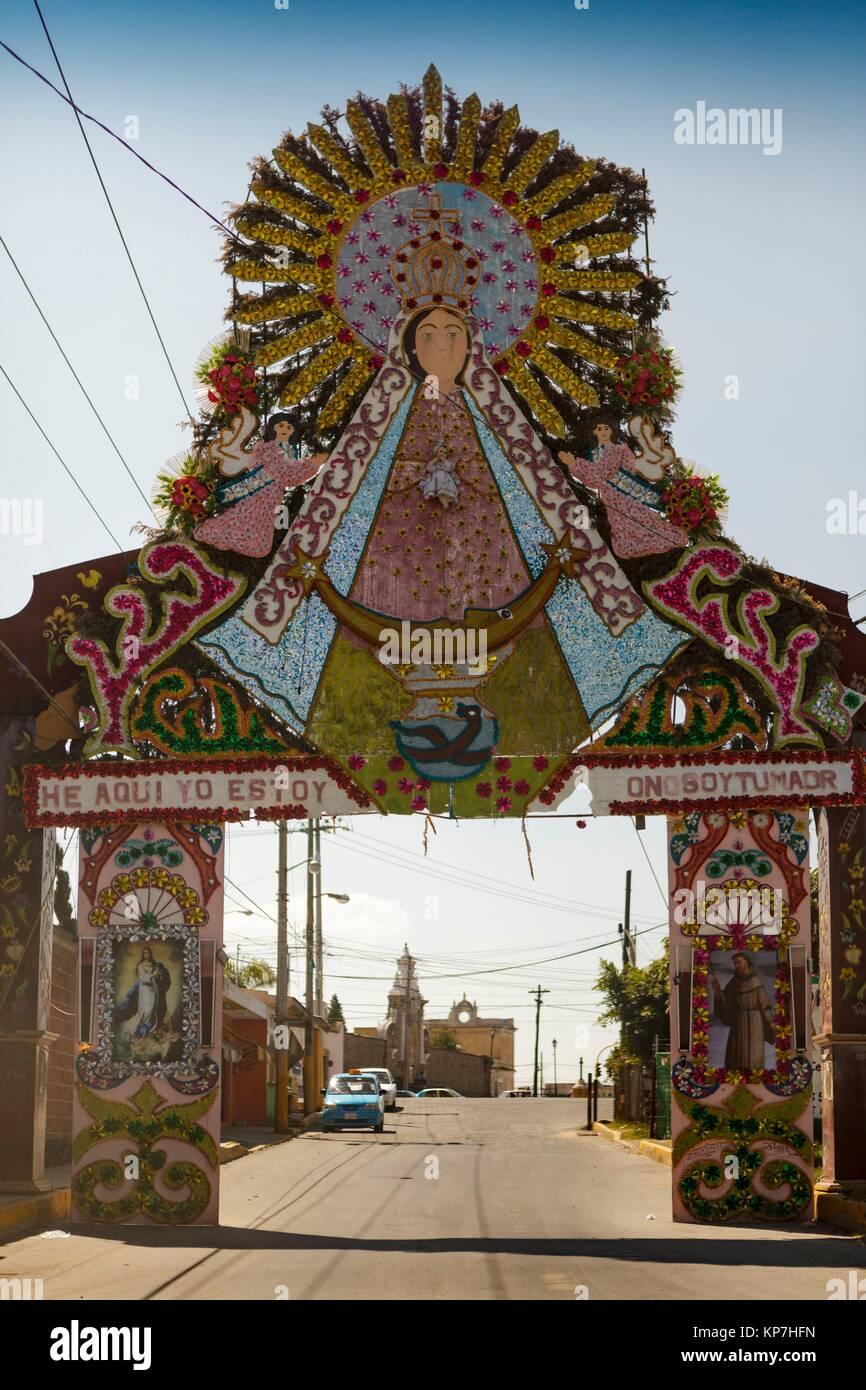 Puebla de Zaragoza, Estado de Puebla, México, América - Stock Image