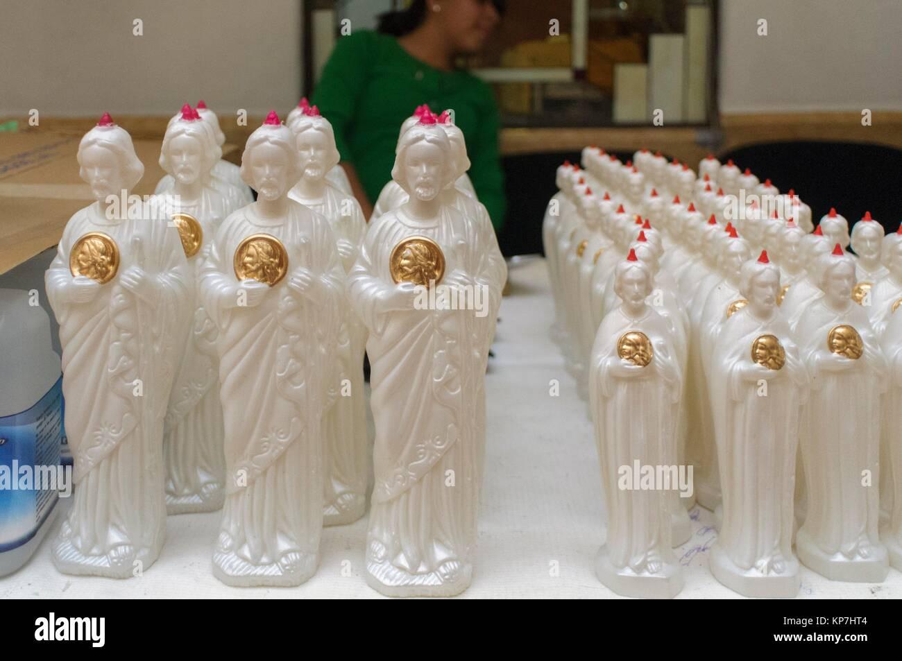 Peregrinación San Judas Tadeo 28 de octubre, Distrito Federal, Mexico, America - Stock Image