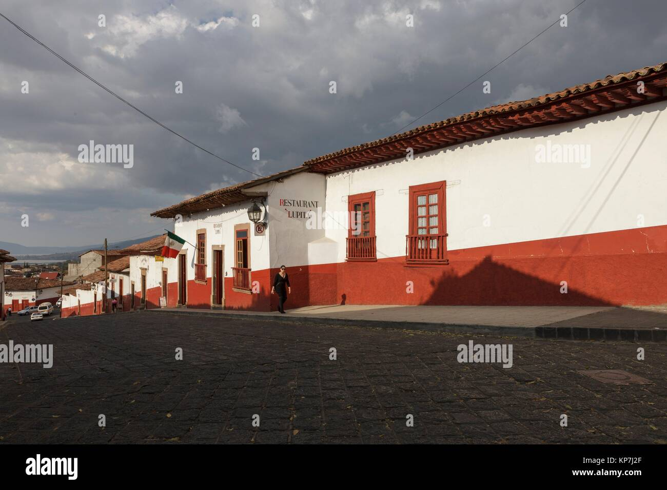 Patzcuaro, Estado de Michoacán, México, América - Stock Image