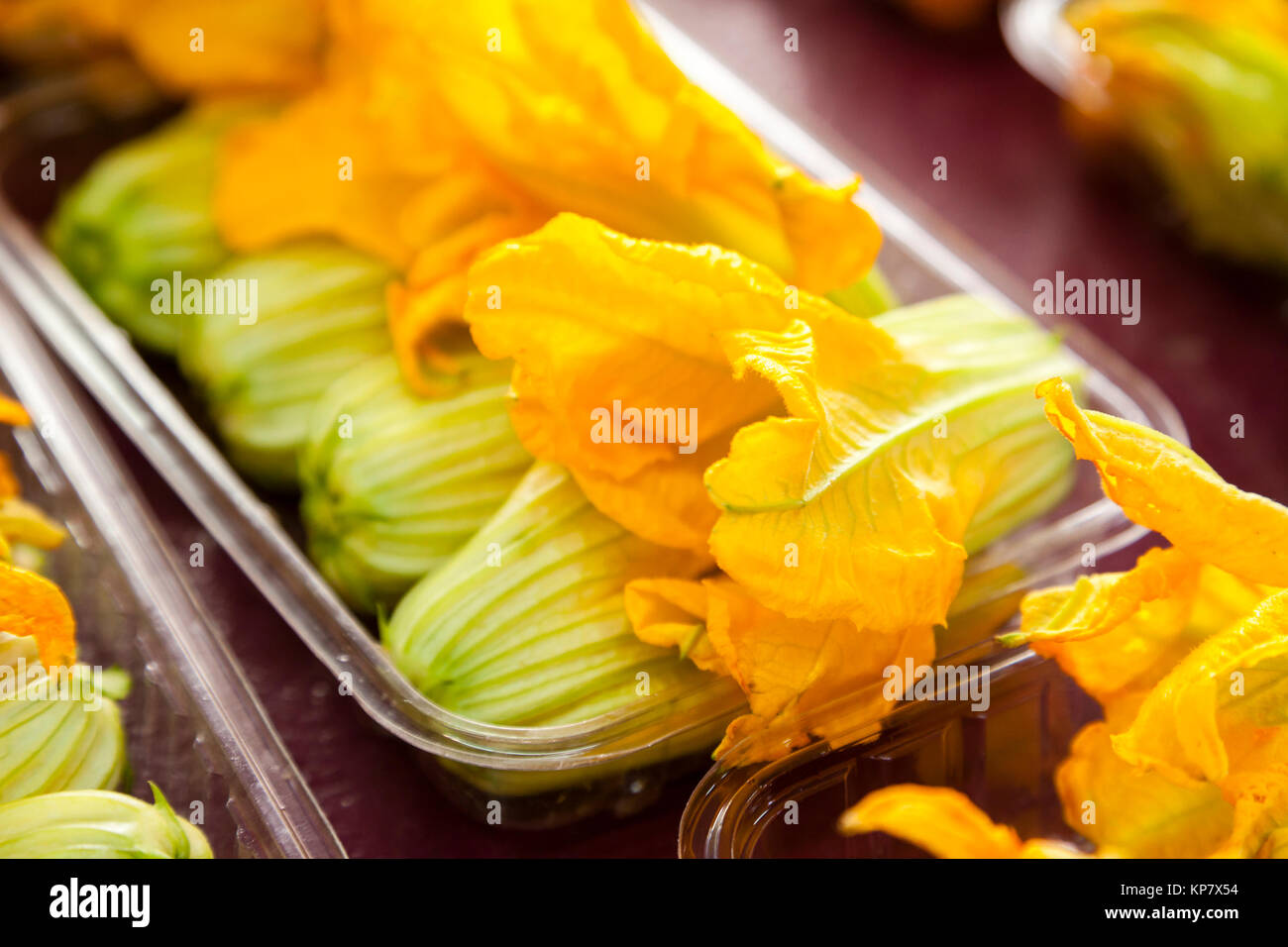 how to keep zucchini flowers open