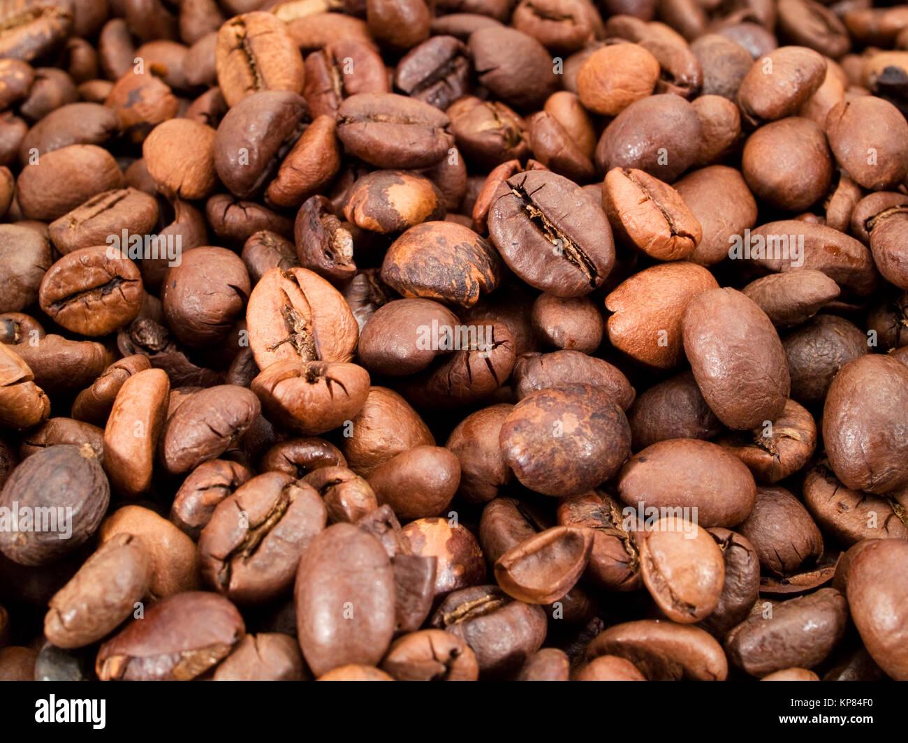 Coffee beans,Coffee beans,Coffee beans,Coffee beans - Stock Image