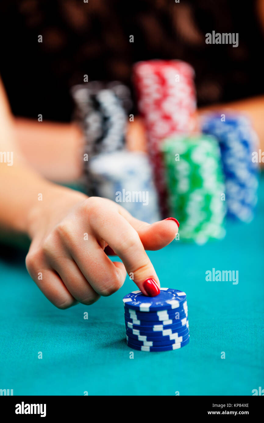 Poker Tournament Table High Resolution Stock Photography And Images Alamy