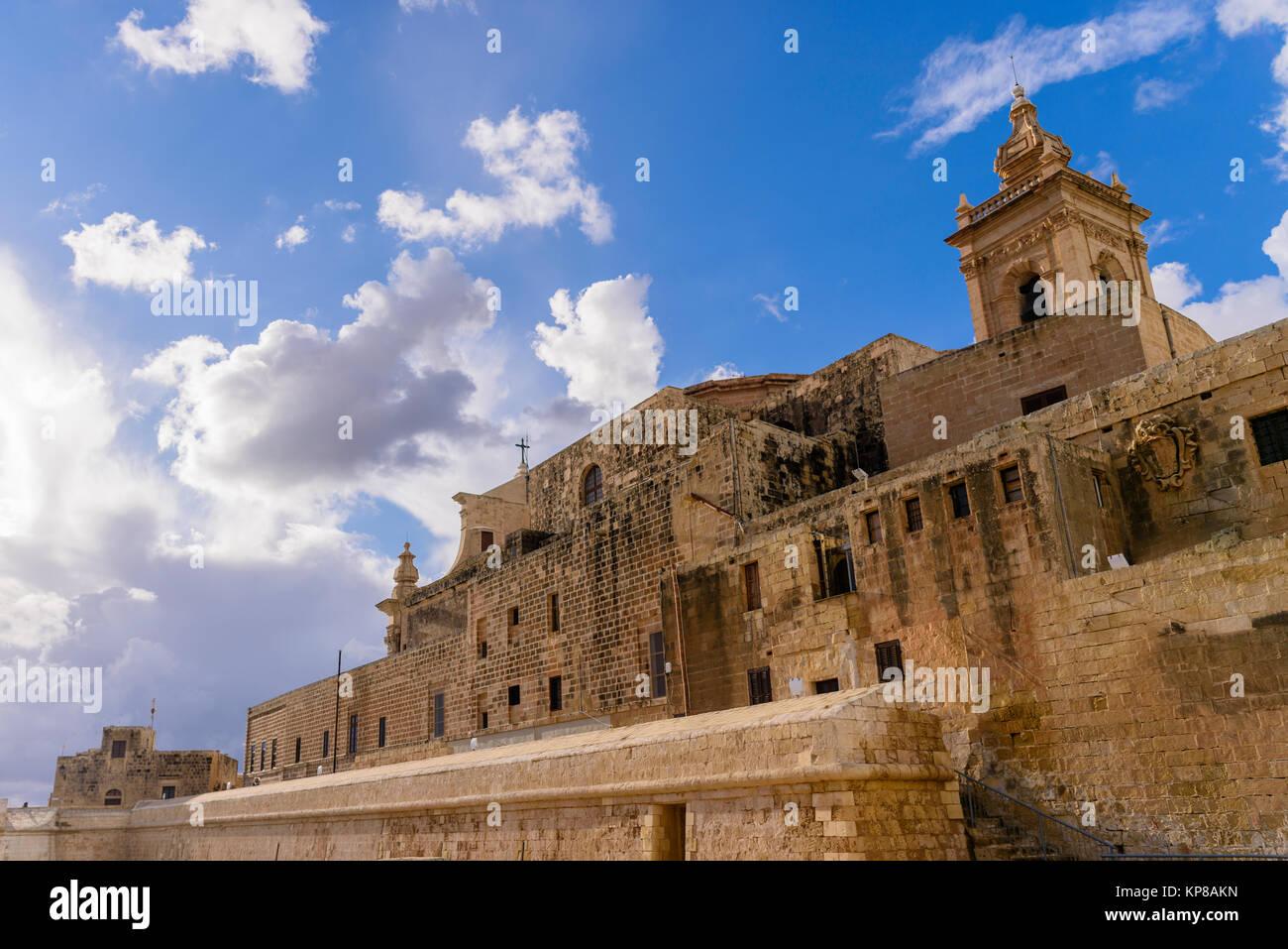 Citadella Citadel, Victoria, Gozo, Malta - Stock Image