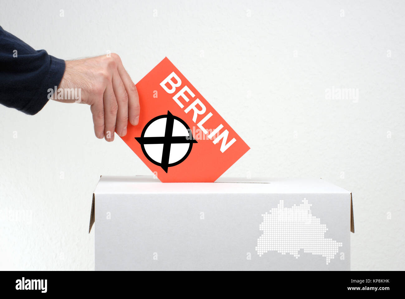 choice in berlin - Stock Image