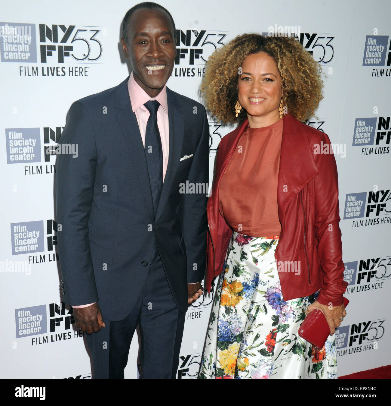 Ew York Ny October 10 Don Cheadle Bridgid Coulter Attends 53rd New York Film Festival Closing Night Gala Presentation Of Miles Ahead At Alice Tully Hall On October 10 2015