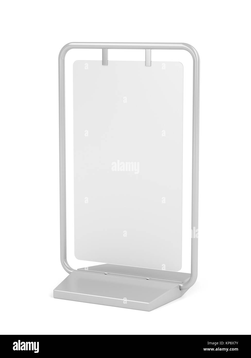 Advertising stand - Stock Image