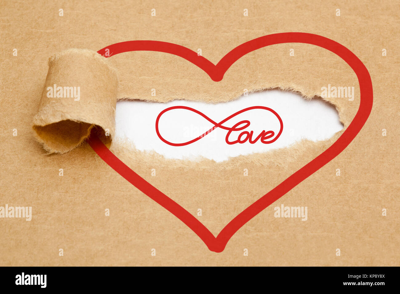 Endless Love Concept Infinity Symbol Stock Photos Endless Love