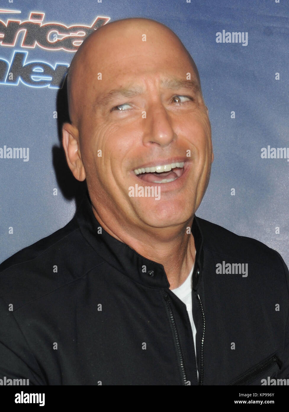 NEW YORK, NY - AUGUST 19: Howie Mandel attends 'America's Got Talent' post-show red carpet event at Radio City Music Stock Photo