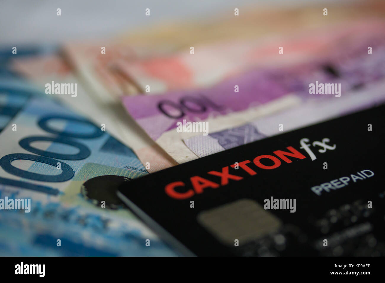 Concept image of going on holiday using a Caxton FX prepiad currency