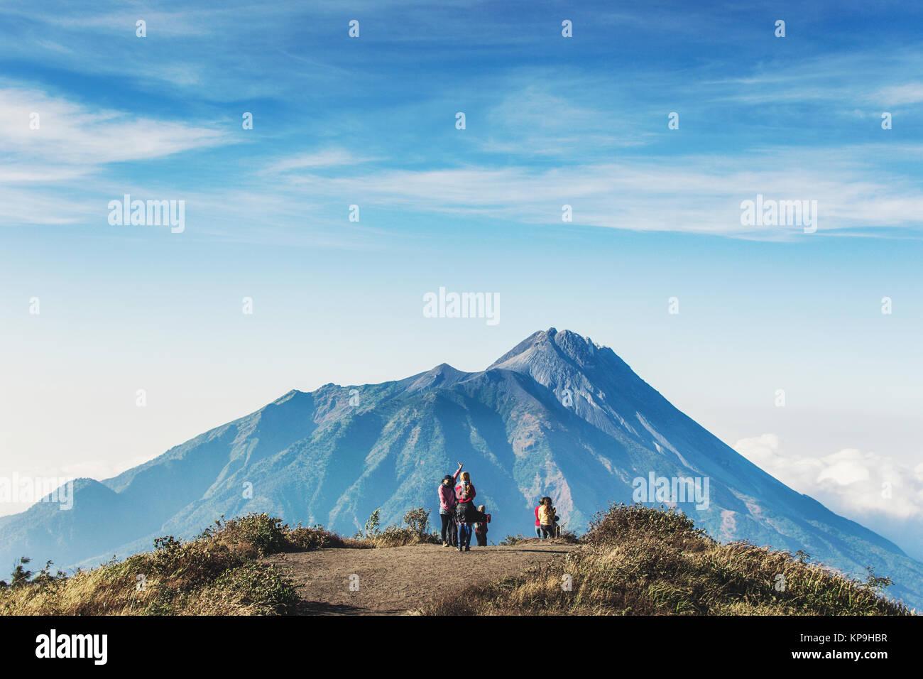 Merapi Merbabu - Stock Image