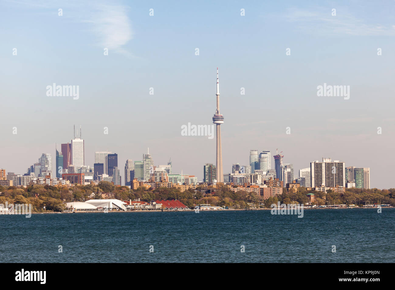Skyline of Toronto downtown. Province of Ontario, Canada Stock Photo