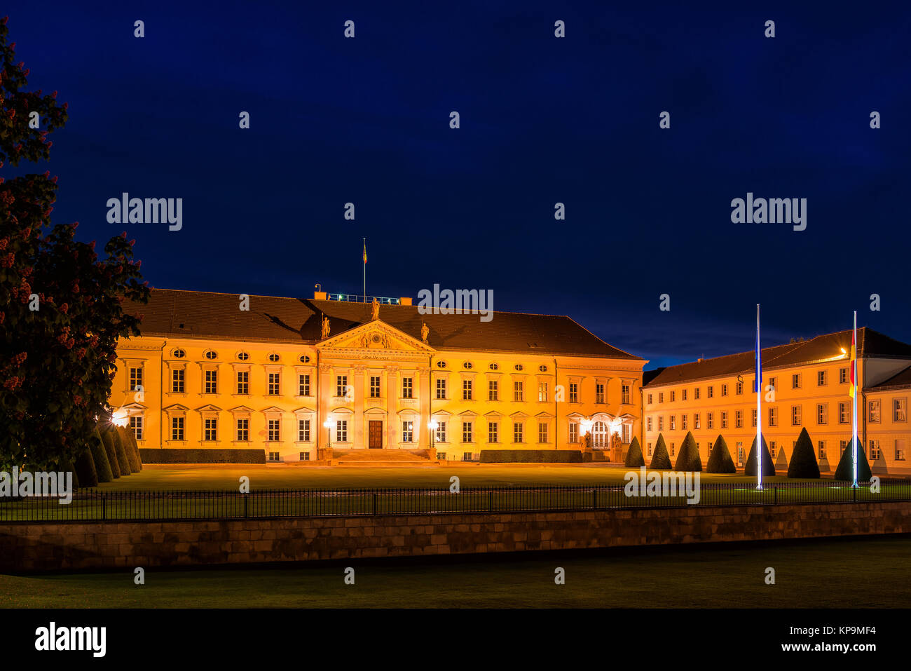 bellevue palace - Stock Image