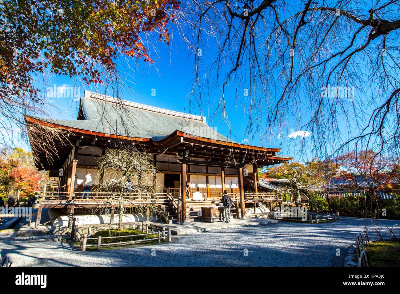 Tenryu-ji Temple Arashiyama Kyoto - Stock Image