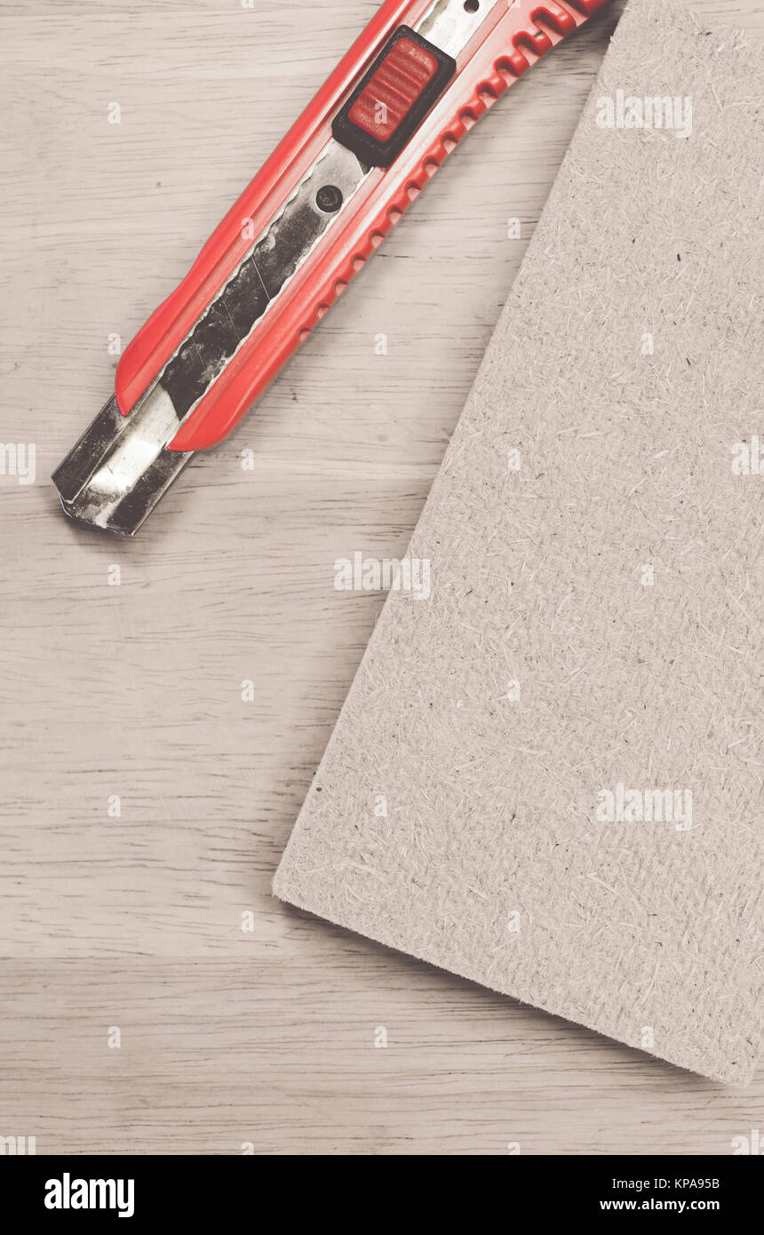 compressed thermal insulating hemp fiber panel and cutter - wall
