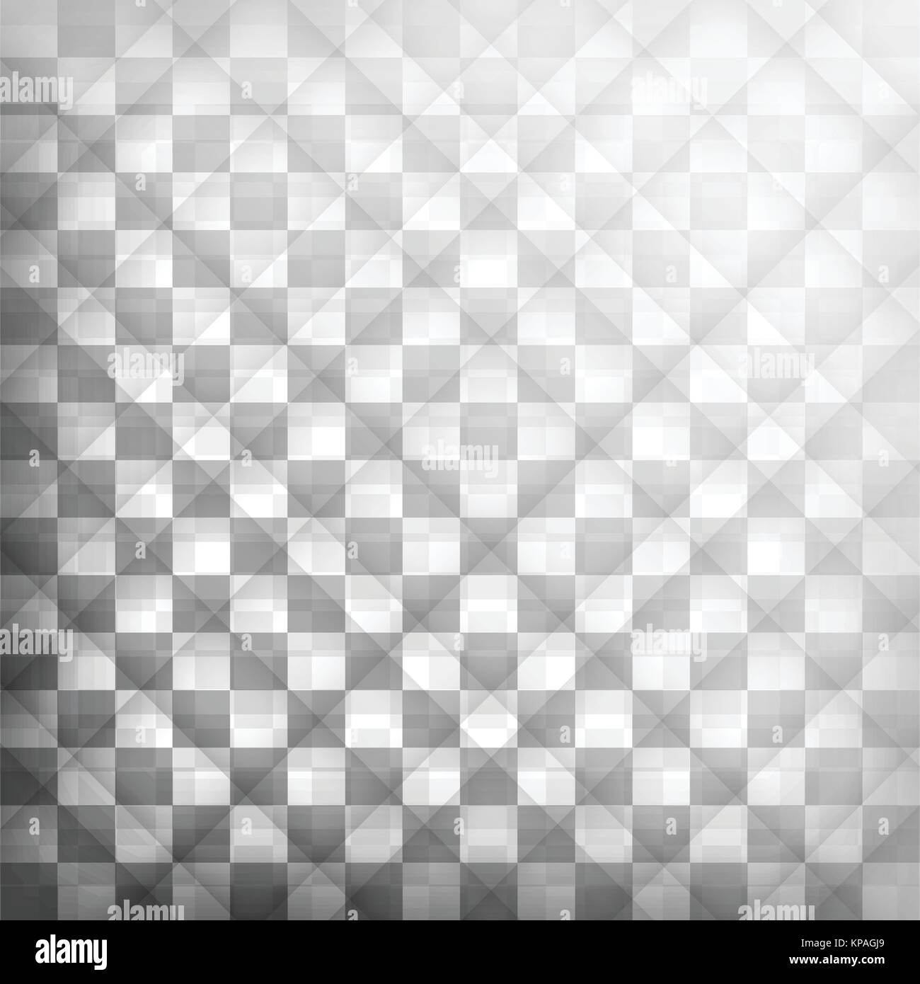 Box black and white background, illustration vector - Stock Image