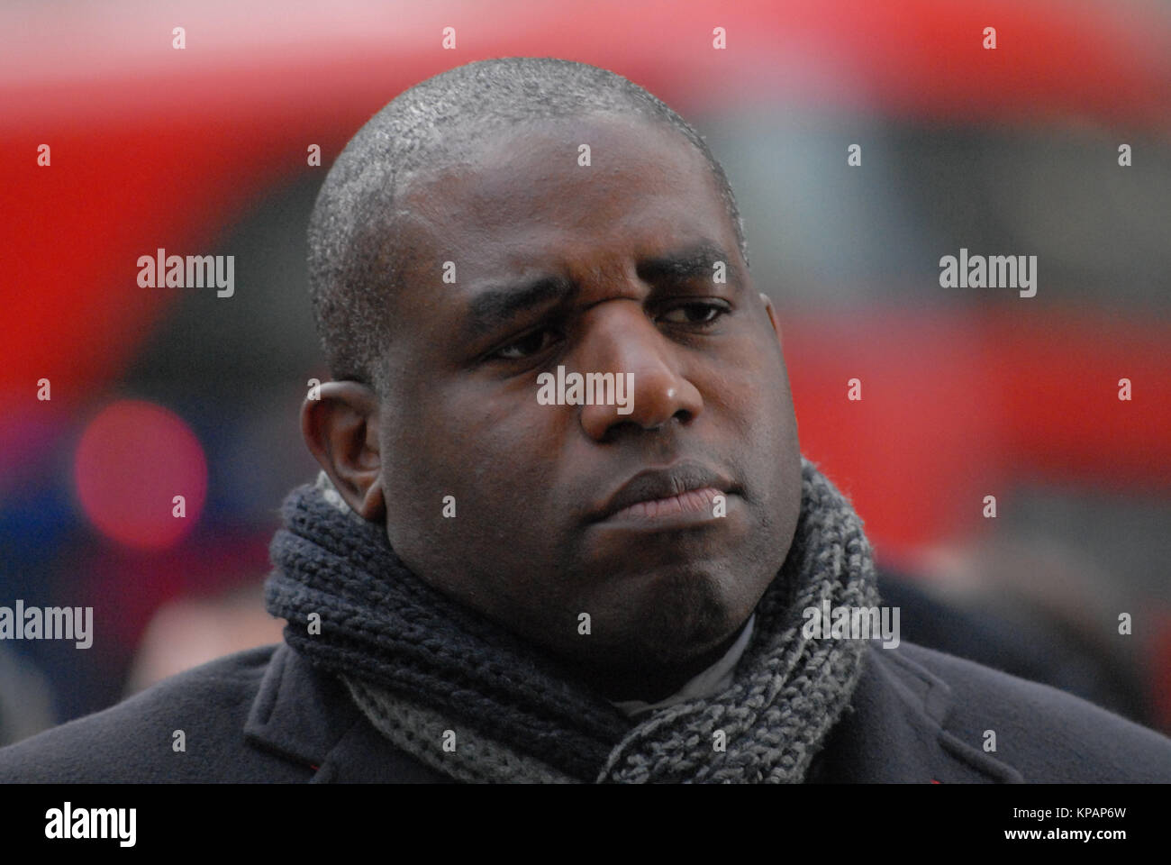 London, UK. 14th Dec, 2017. The Rt Hon David Lammy MP, Member of Parliament for Tottenham, Labour MP, leaves St - Stock Image