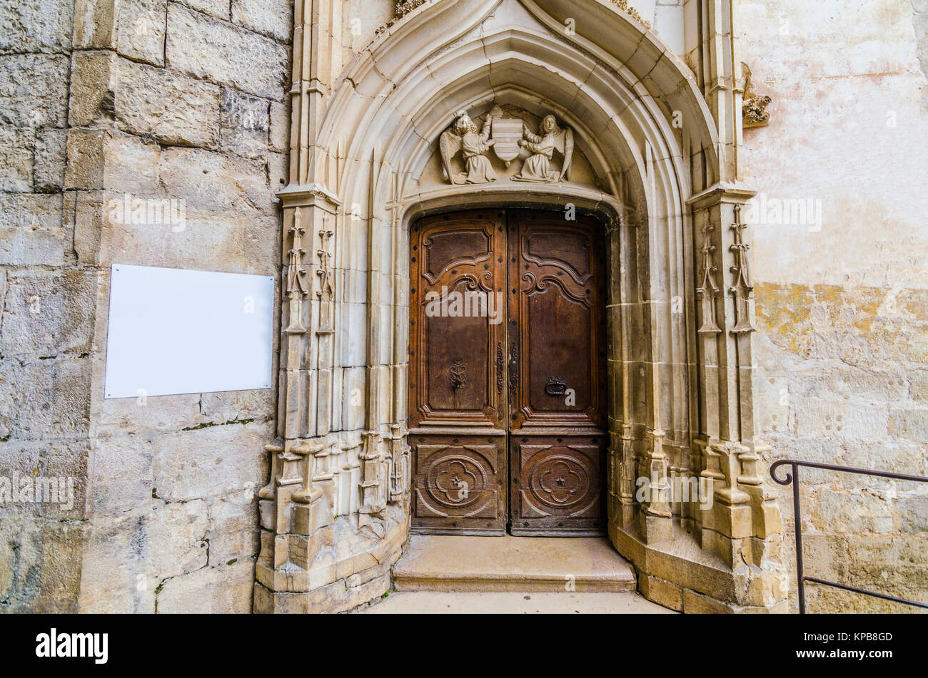 Sanctuary of Rocamadour entrance doors to the chapel of our lady & Sanctuary of Rocamadour entrance doors to the chapel of our lady ...