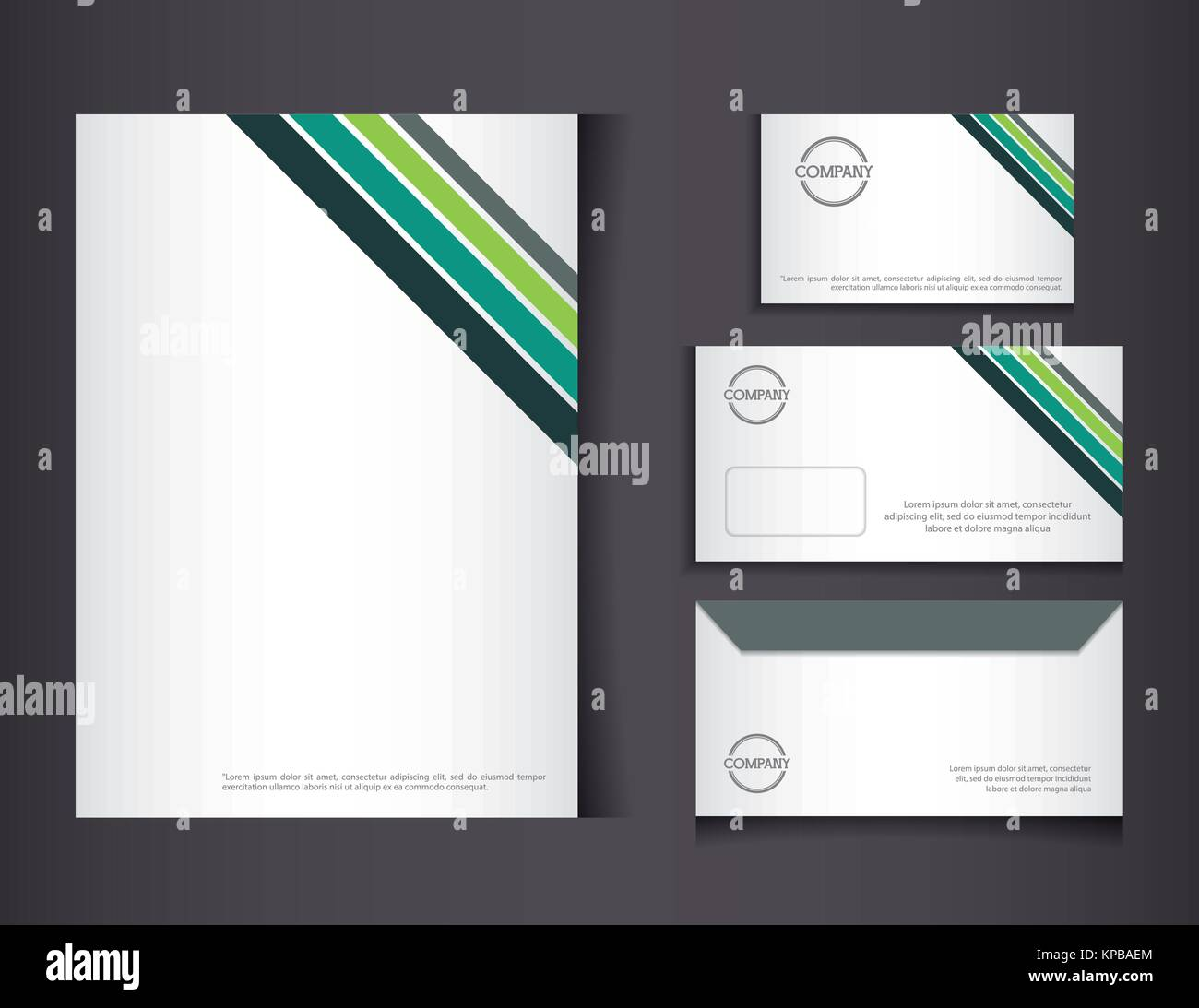 Editable Corporate Identity Stock Photos & Editable Corporate