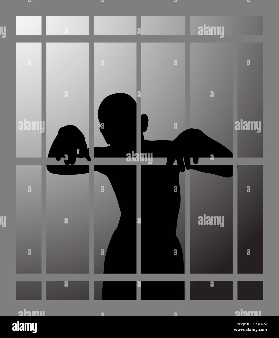Man In Prison Stock Photos & Man In Prison Stock Images