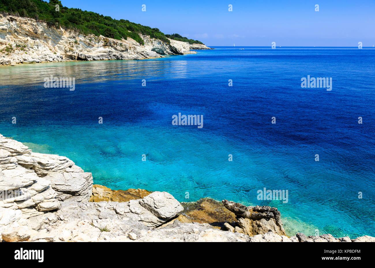 AntiPaxos, Greece - Stock Image
