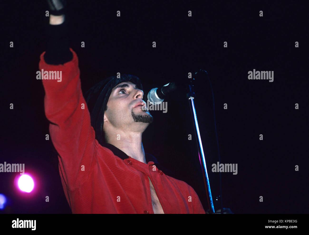 Janes Addiction  performing on Lollapalooza in Chicago, Illinois. Aug. 1991 © Gene Ambo / MediaPunch **NO UK - Stock Image