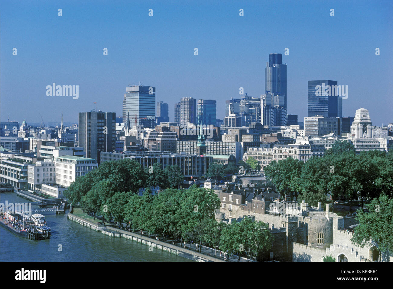1980s london skyline stock photos 1980s london skyline. Black Bedroom Furniture Sets. Home Design Ideas