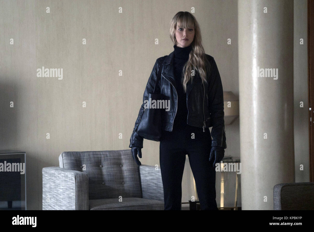 Red Sparrow is an upcoming American spy thriller film directed by Francis Lawrence, based on the book of the same - Stock Image