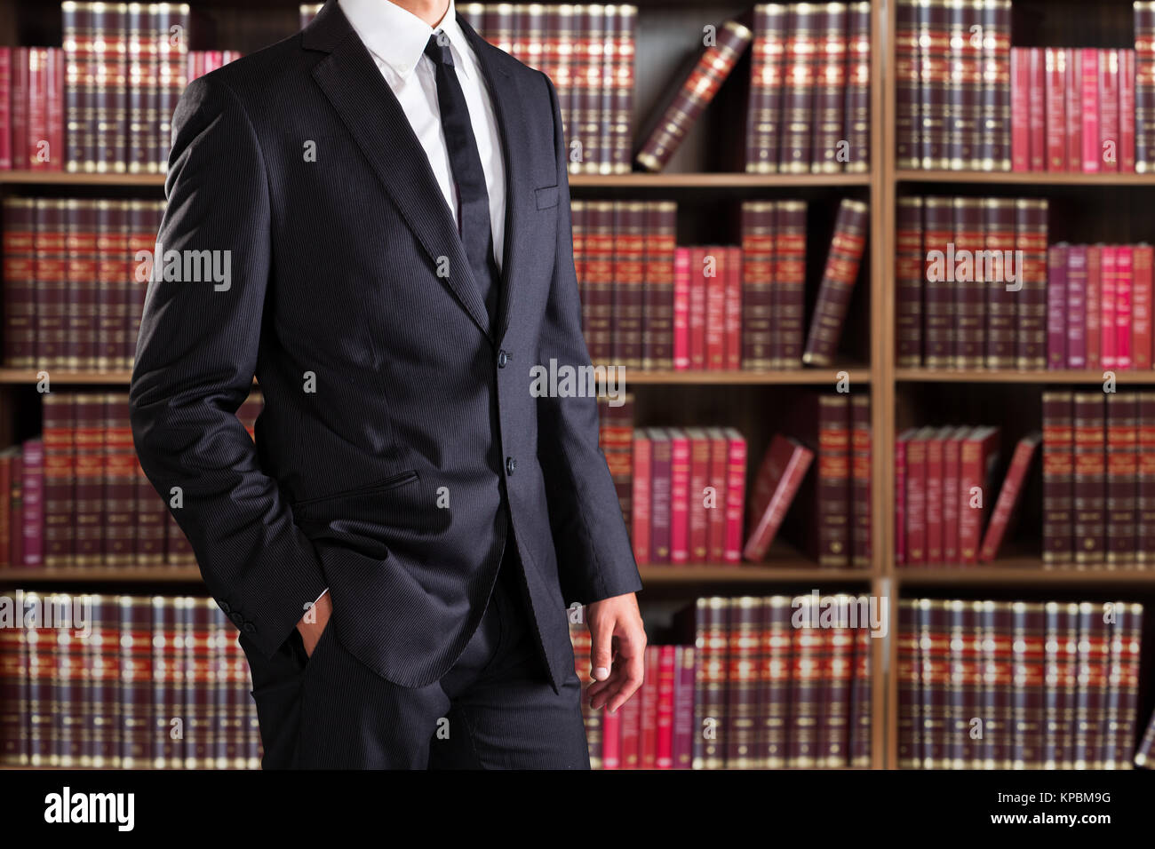 Closeup Of Young Businessman - Stock Image