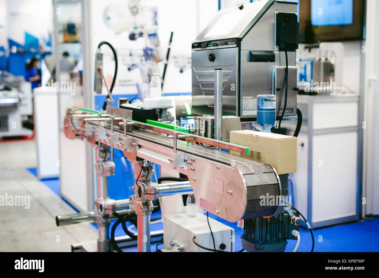 machines and mechanisms of production laboratories - Stock Image