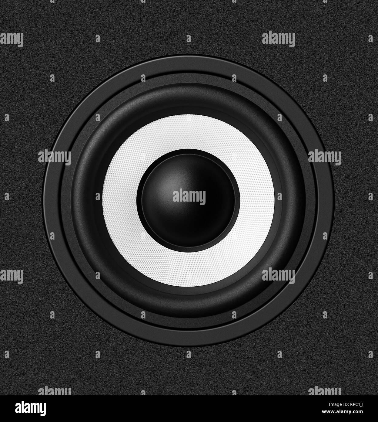 Speaker - Stock Image