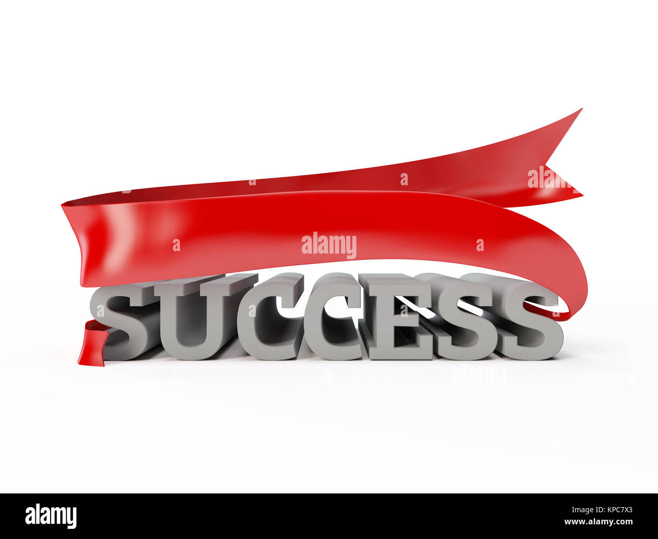 illustration of success, luck, achievement - Stock Image