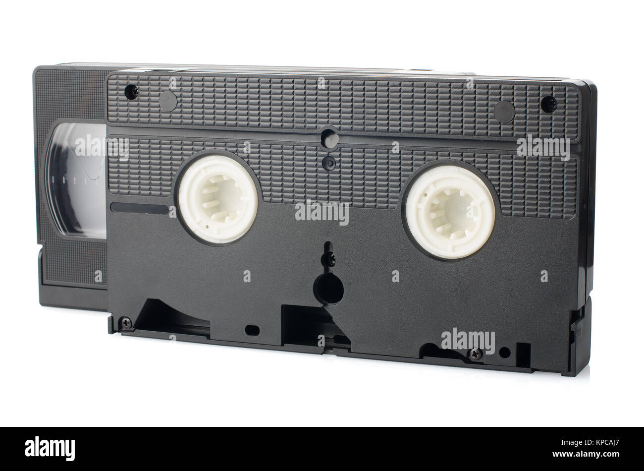 Old VHS Video tapes Stock Photo