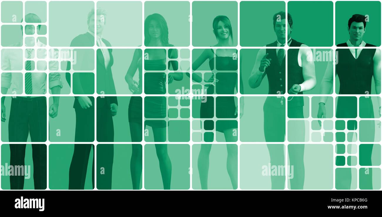 Diverse Nationalities - Stock Image