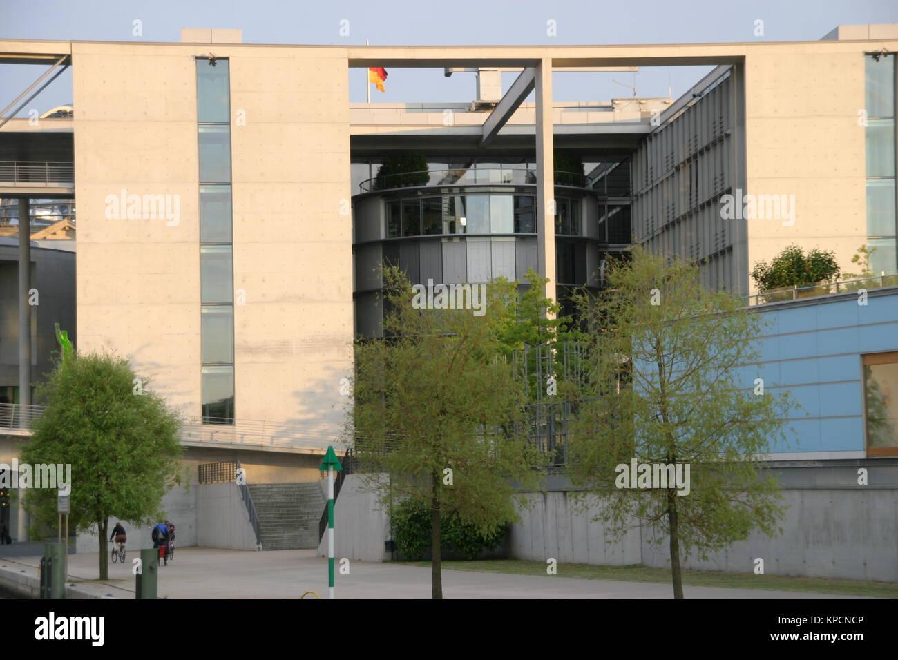 government quarter berlin bundestag - Stock Image