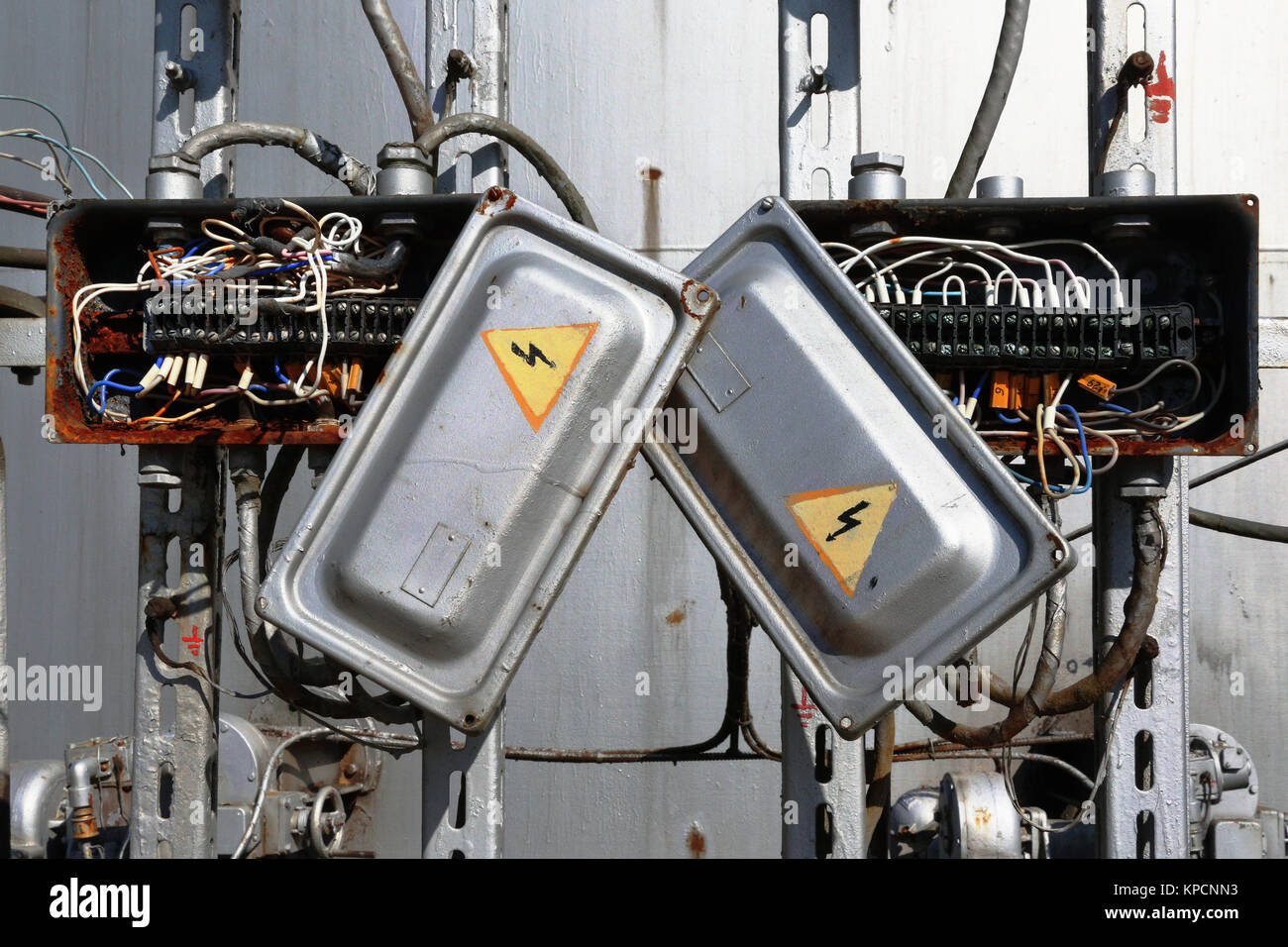 electric fuse box vintage stock photos electric fuse box vintage rh alamy com