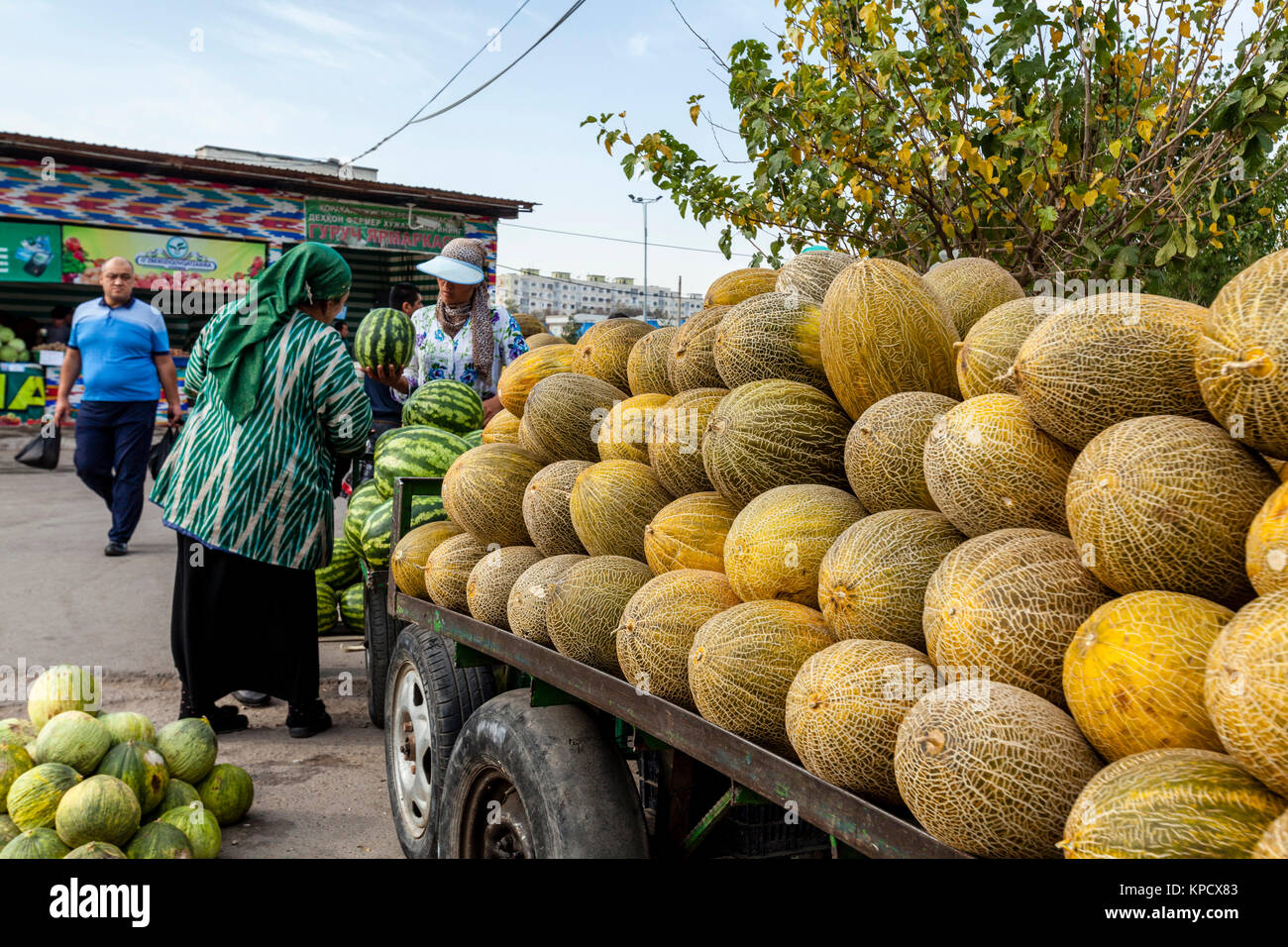 Image result for chorsu bazaar tashkent alamy