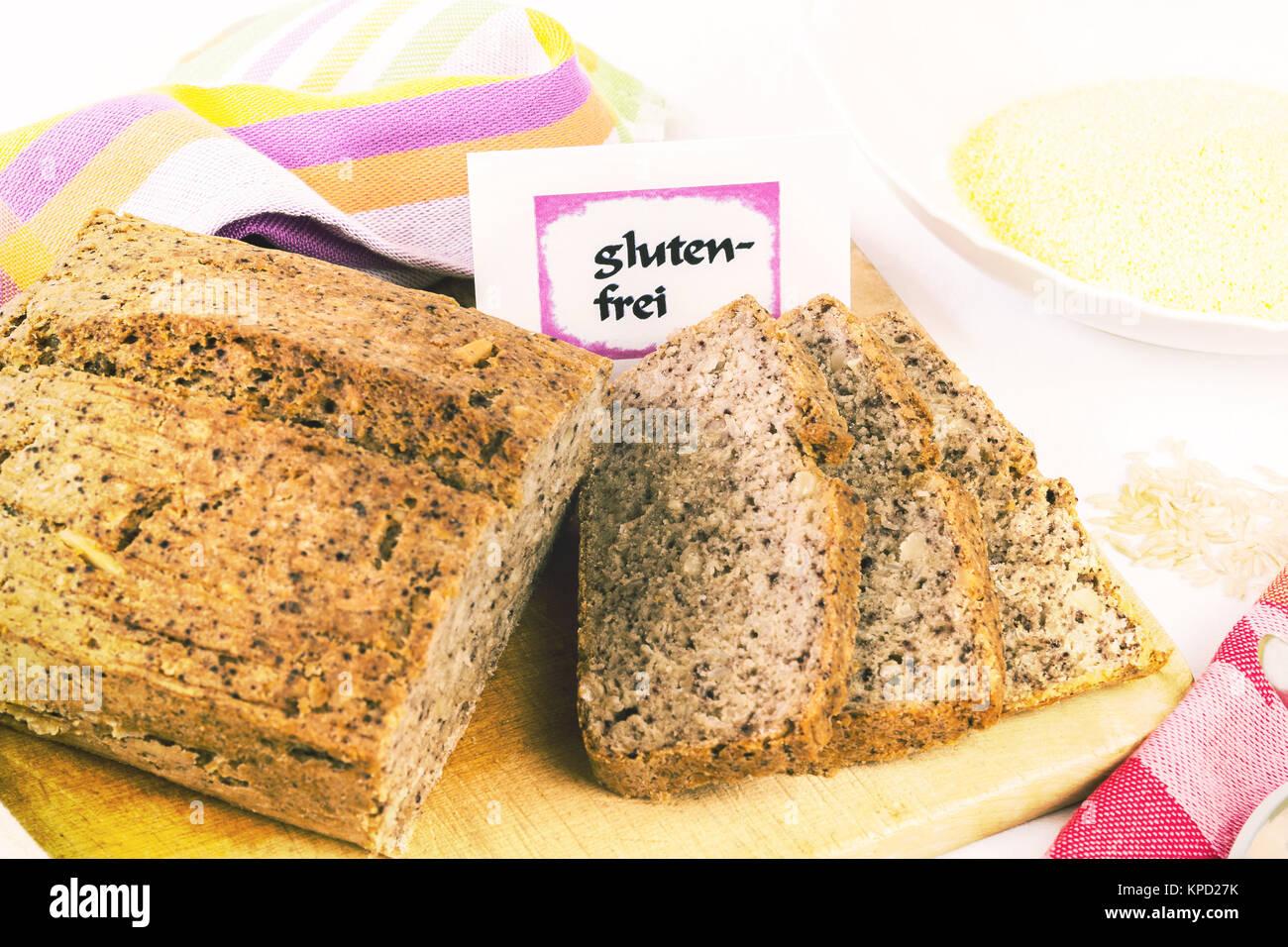 gluten-free diet - Stock Image