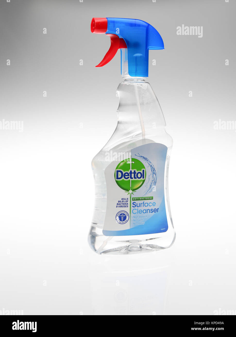 Anti Bacterial Cleaner Stock Photos Cussons Baby Liquid Detergent 750ml Dettol Surface Spray Bottle On White Background Image