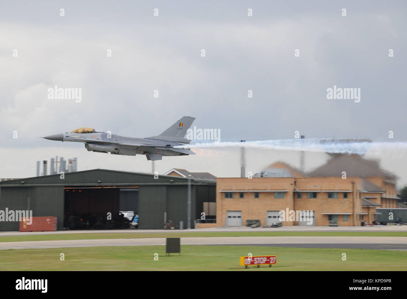 Belgian Lockheed Martin General Dynamics F-16A Fighting Falcon - Stock Image