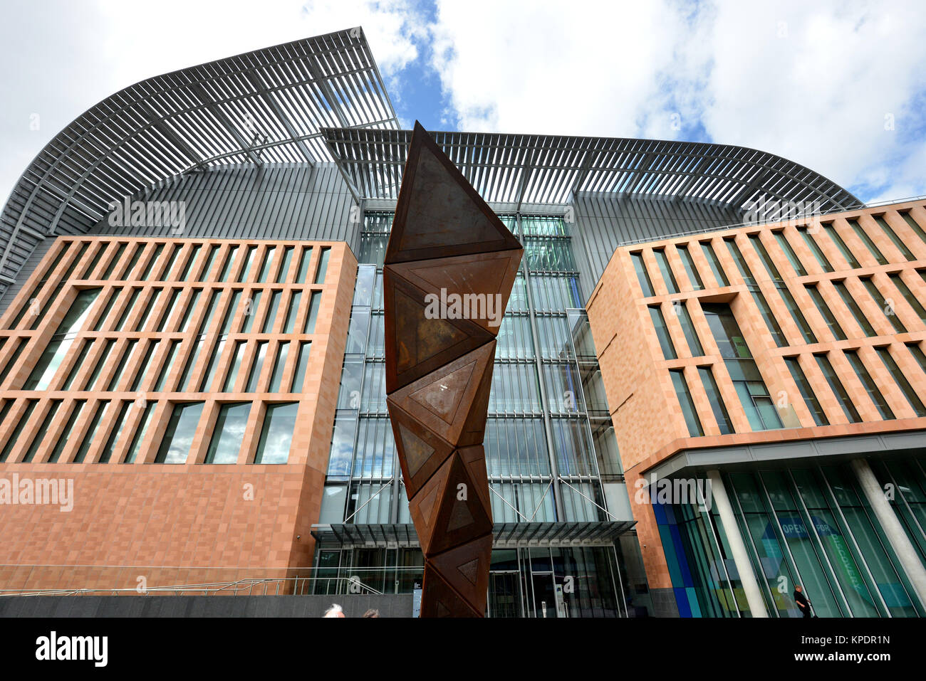 Francis Crick Institute, formerly the UK Centre for Medical Research and Innovation, biomedical research centre - Stock Image
