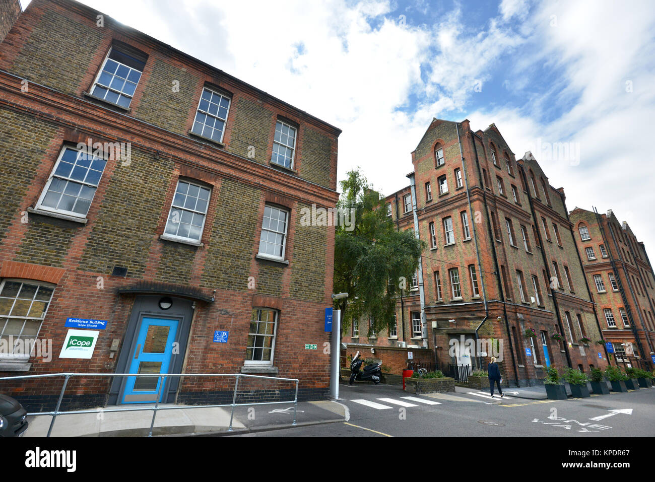 St Pancras Hospital, London - Stock Image