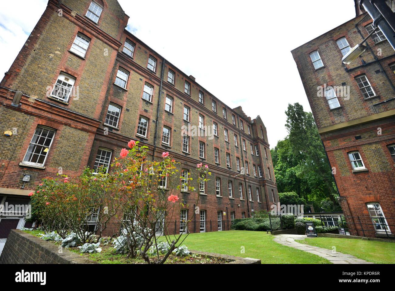 St Pancras Hospital, London - Stock Image